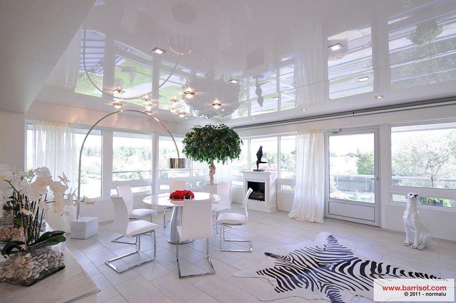 Charmant Plafond Tendu   Beautiful Belle Conception
