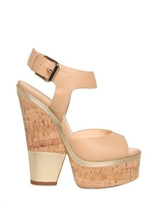 1626c56e282 ShopStyle  Giuseppe Zanotti - 160mm Leather Ankle Strap Sandals