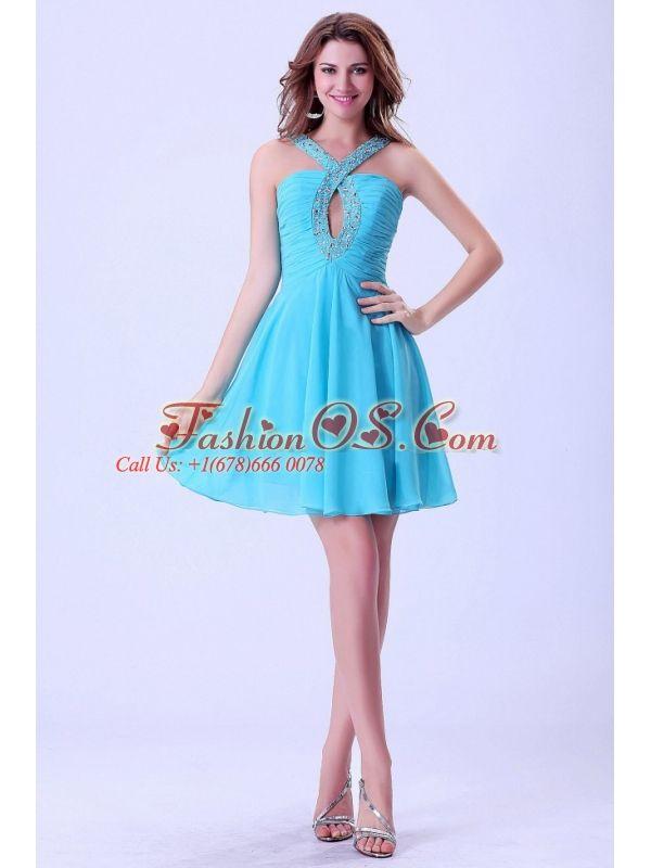 Aqua Blue Cocktail Dresses