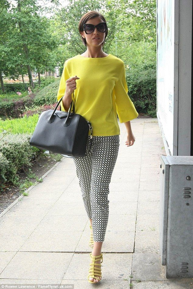 what to wear with yellow top