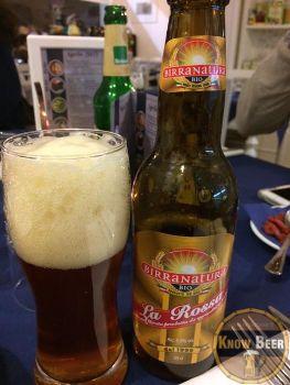 Birra Natura La Rossa del Birrificio Officina della Birra. Birra Biologica