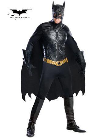 Men's Collectors Edition Batman Adult Costume | Mens Batman Halloween Costumes