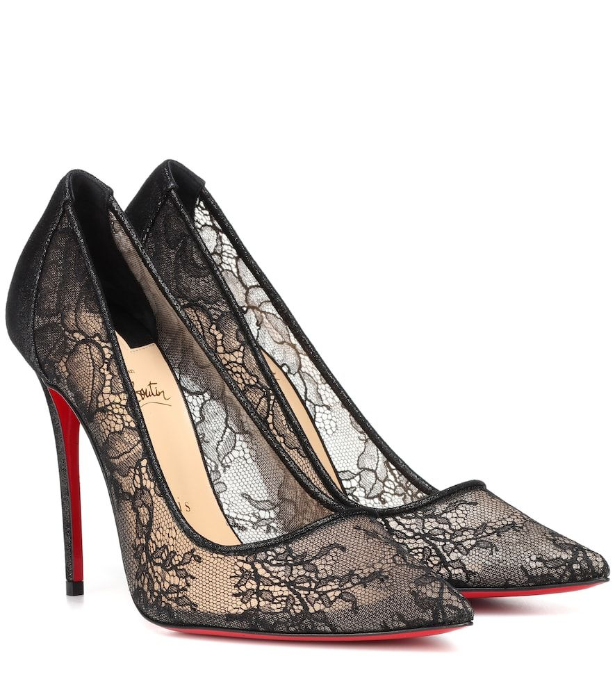 12dae3a9e3c Lace 554 pumps | Christian Louboutin. | Shoes, Heels, Teen girl shoes