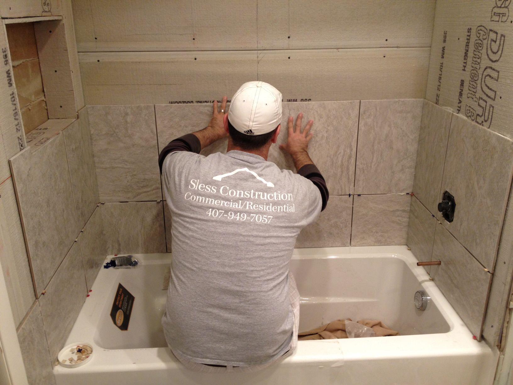 Tile Installation Bath Tub Installation In Maitland Fl
