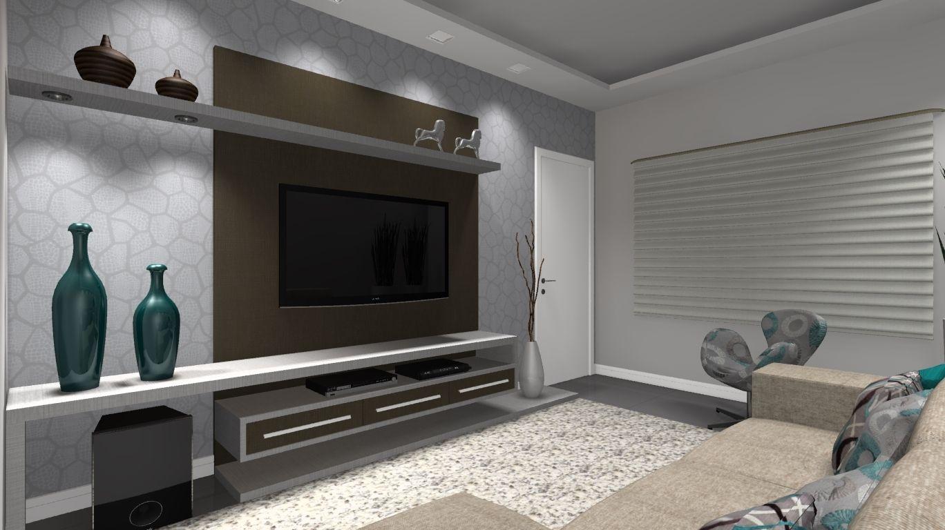 Salas De Tv Pesquisa Google Sala Tv Pinterest Tv Stands Tv  -> Fotos De Salas De Tv
