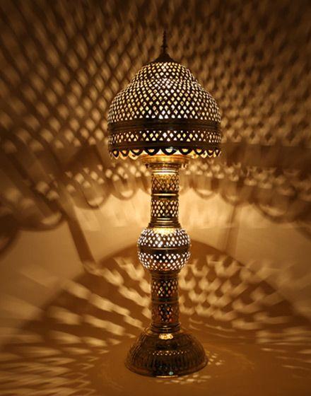 Moroccan Lamp Shade: Moroccan Floor Lamp Shade: lamp for sitting room,Lighting