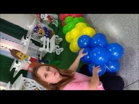 Como Fazer Arco De Baloes Youtube Com Imagens Como Fazer Um