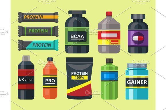 #athlete #Bodybuilders #diet #Fitness #food #GYM #Nutrition #powde #Protein #Protein Illustration #S...