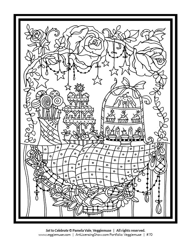 download 92 holiday coloring pages for free the artists of artlicensingshowcom are excited - Free Holiday Coloring Pages