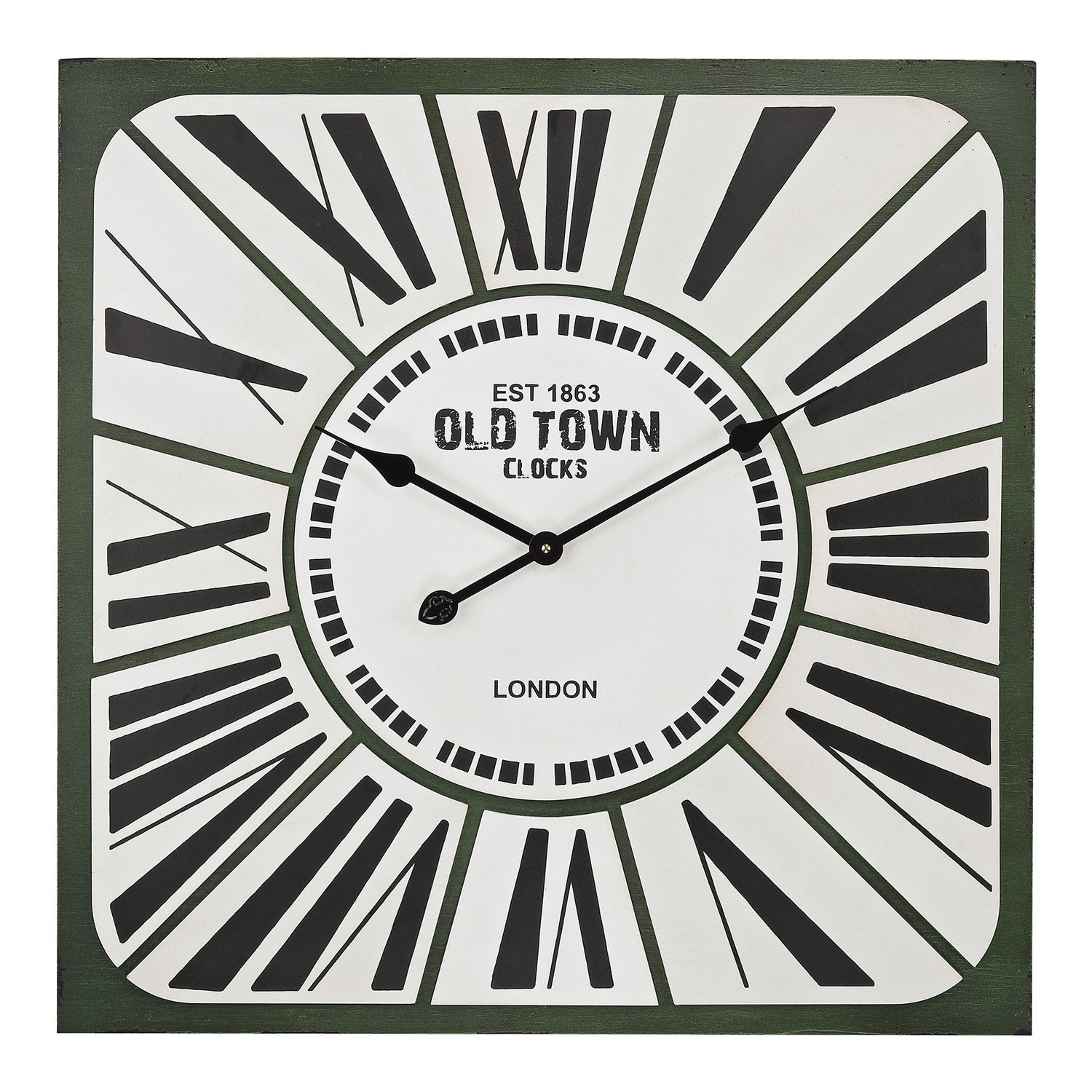 Old Town Wall Clock Paynes Gray