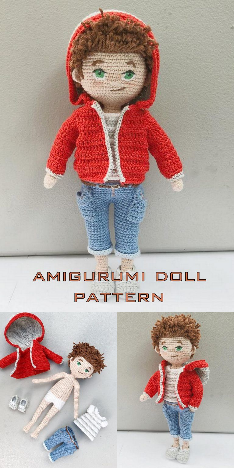 15+ Free Crocheted Doll Patterns • Free Crochet Tutorials | 1536x768