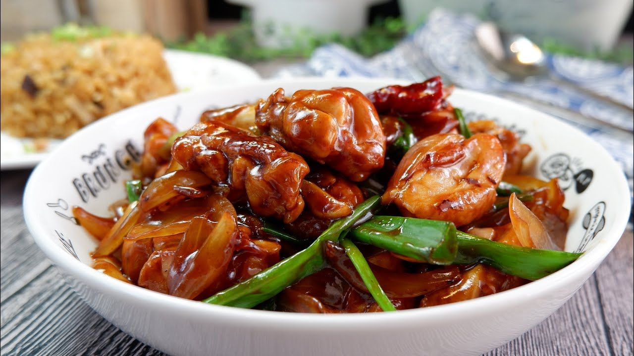Another Super Easy Chinese Chicken W Onions In Oyster Sauce 洋葱蚝油烧鸡 Quick Chinese Stir Fry Recipe Youtub In 2020 Chinese Stir Fry Asian Inspired Dishes Quick Chinese