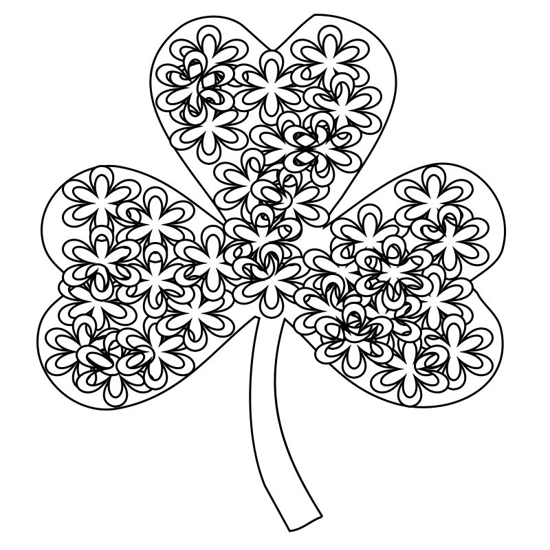 39+ St patricks coloring pages for adults ideas