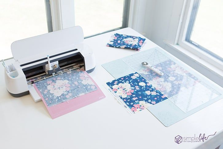How To Sew The Cricut Simplicity Cosmetic Tote Cricut Projects