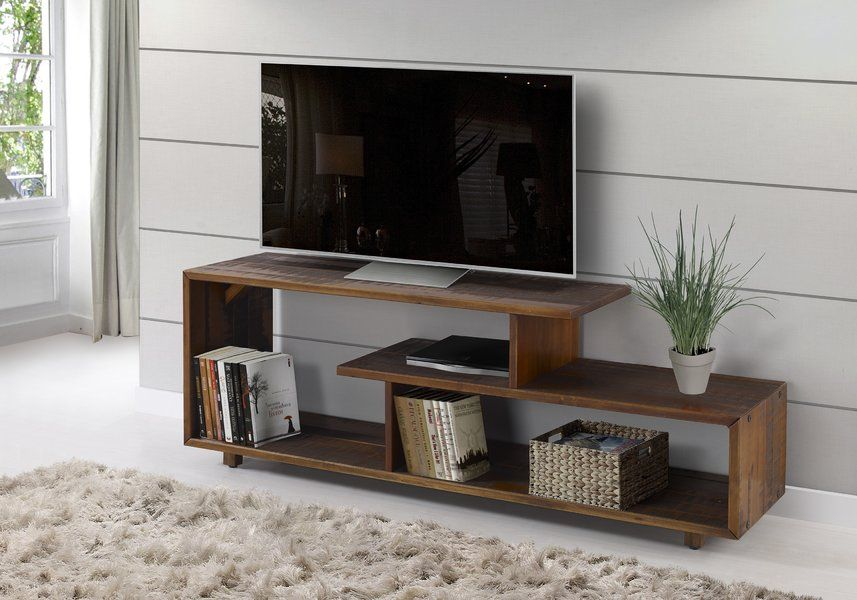 Carrasco Solid Wood Tv Stand For Tvs Up To 60 Solid Wood Tv Stand Living Room Tv Tv Stand Wood