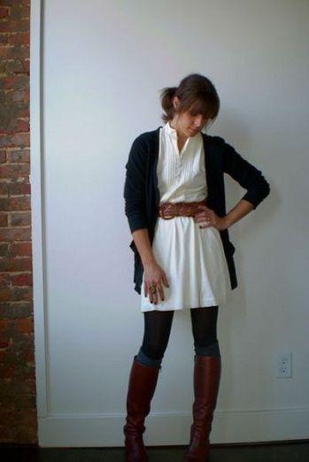 787d31f21946 summer dress winter layers boots