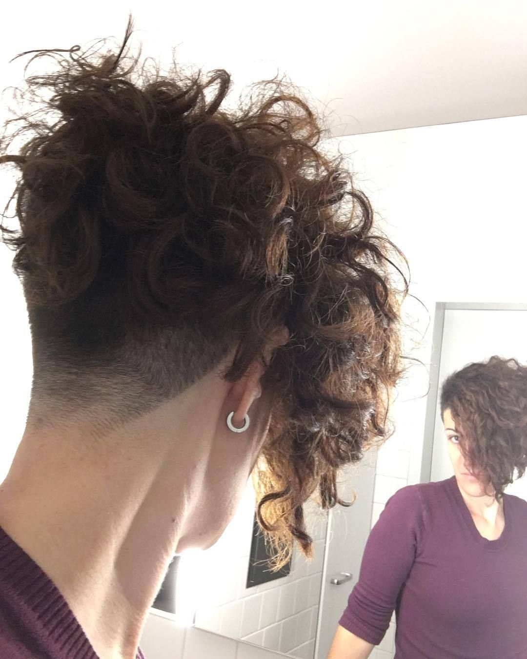All Sizes Public Domain Pictures Flickr Photo Sharing Curly Hair Styles Undercut Curly Hair Short Curly Hair