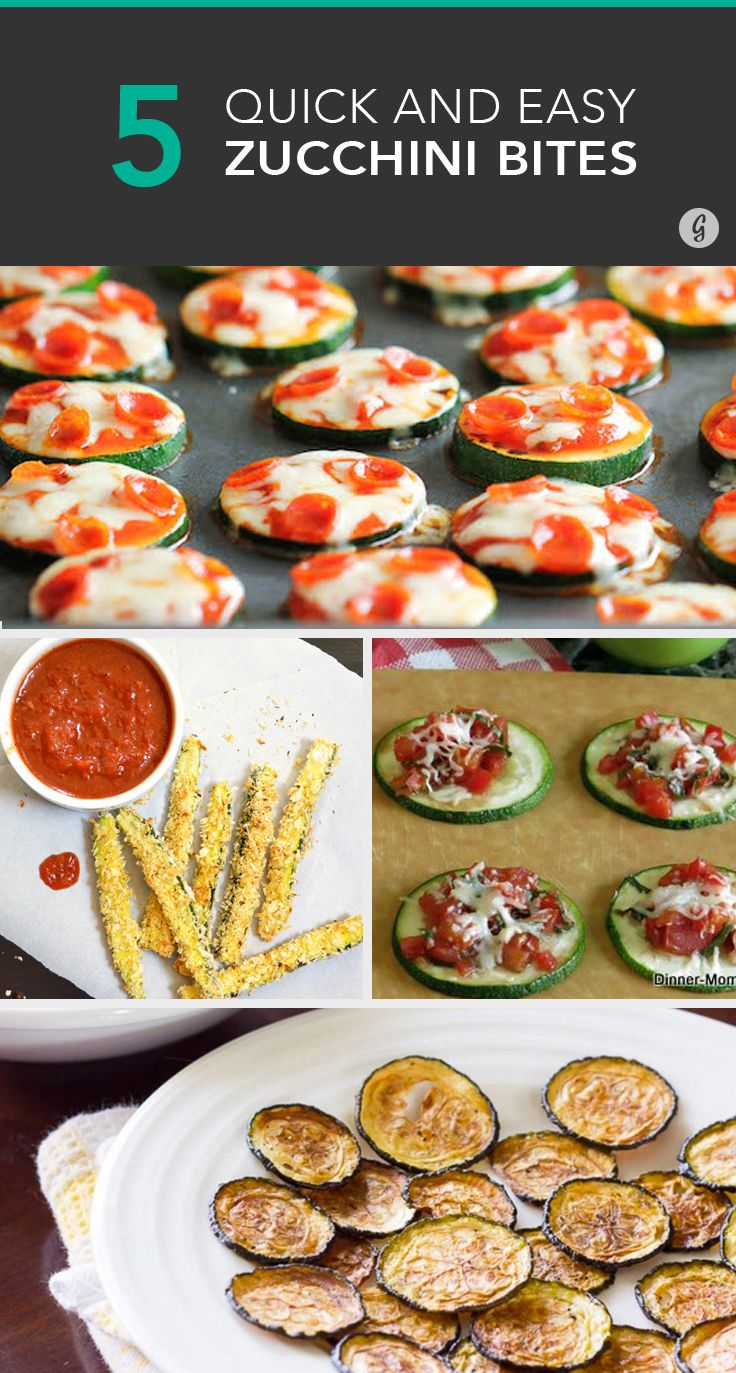 Quick and easy zucchini snacks that satisfy junk food