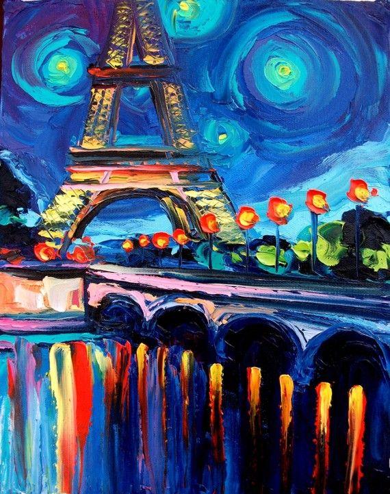 Die besten 25+ Paris zeichnung Ideen auf Pinterest ... Easy Acrylic Flower Paintings On Canvas