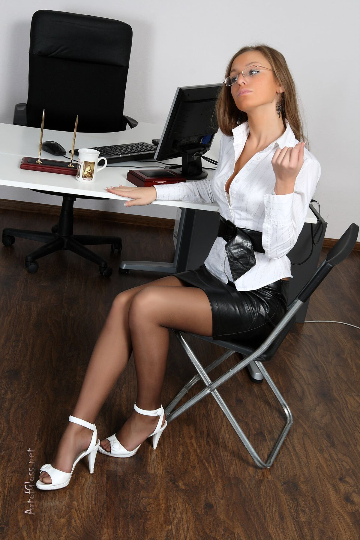 Office Babe  Hot Sexy Office Babes In 2019  Lederrock -7838