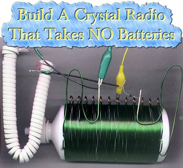 how to build a crystal radio