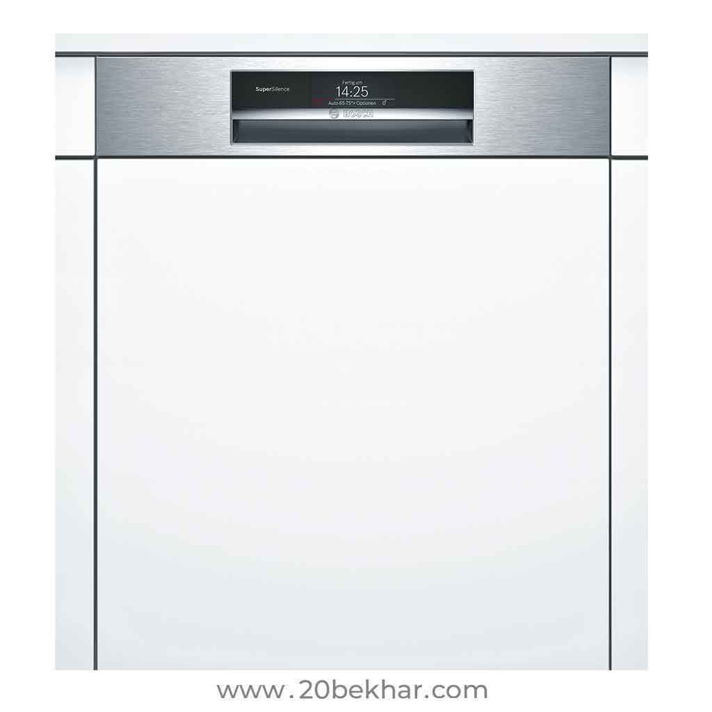 Bosch Built In Dishwasher 14 Place Series 8 Smi88ts02e Built In Dishwasher Dishwasher Bosch