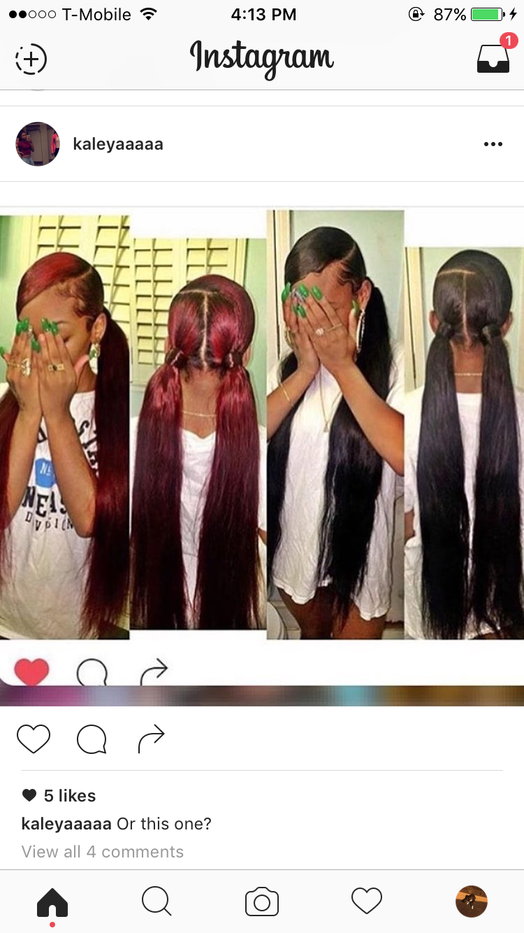Pin by niah on ponytailsss pinterest ponytail black girls