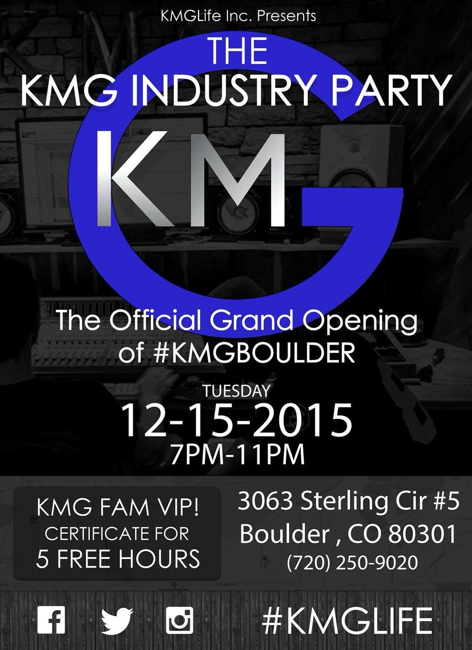 Busy planning decor and refreshments for this event, it's going to be huge. We are all so pumped! #KMGLIFE