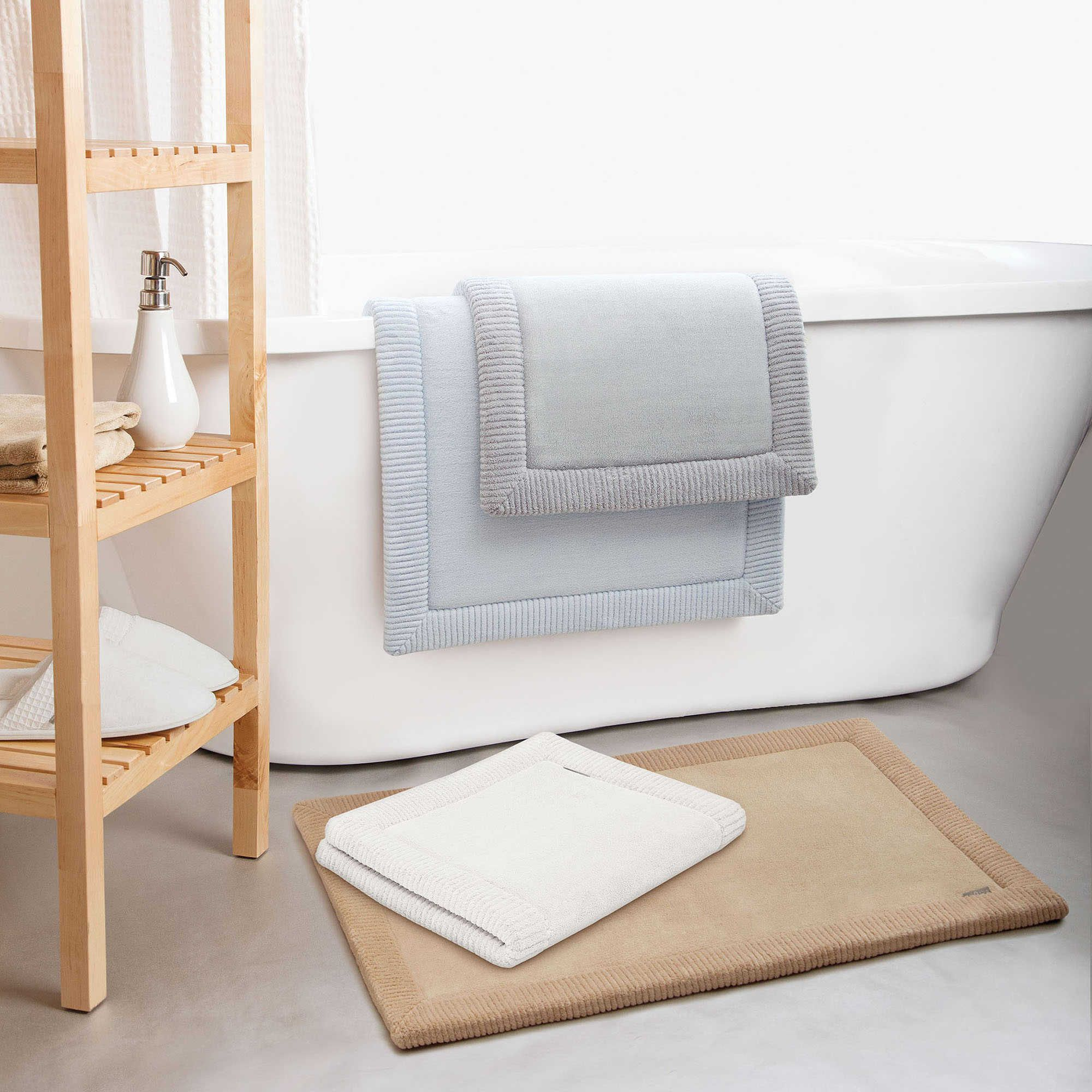 Microdry Memory Foam Bath Rug With Griptex Base Unique Bath