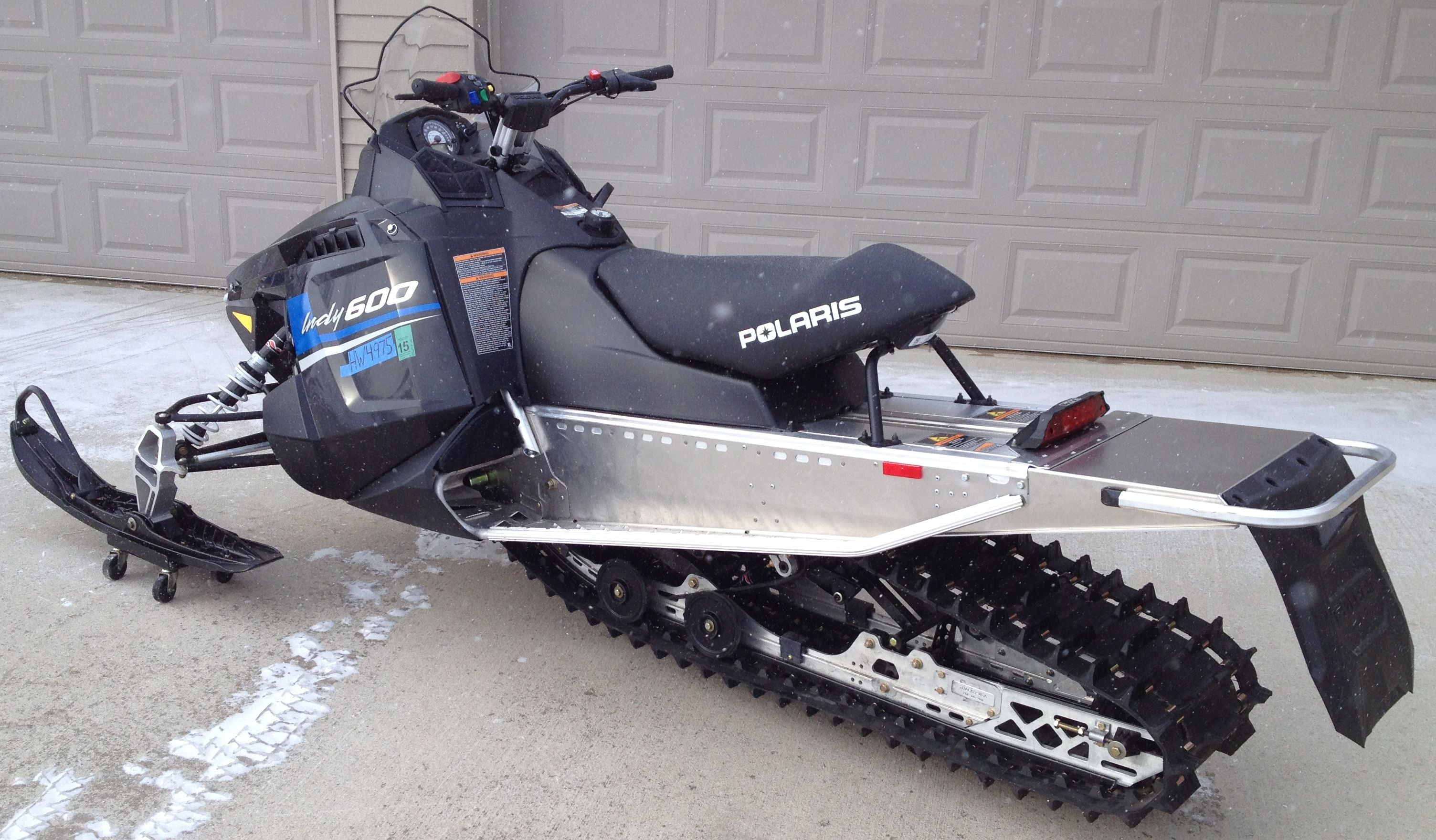 2013 Polaris Indy 600 Converted To 144 Snowmobile Indie Sleds