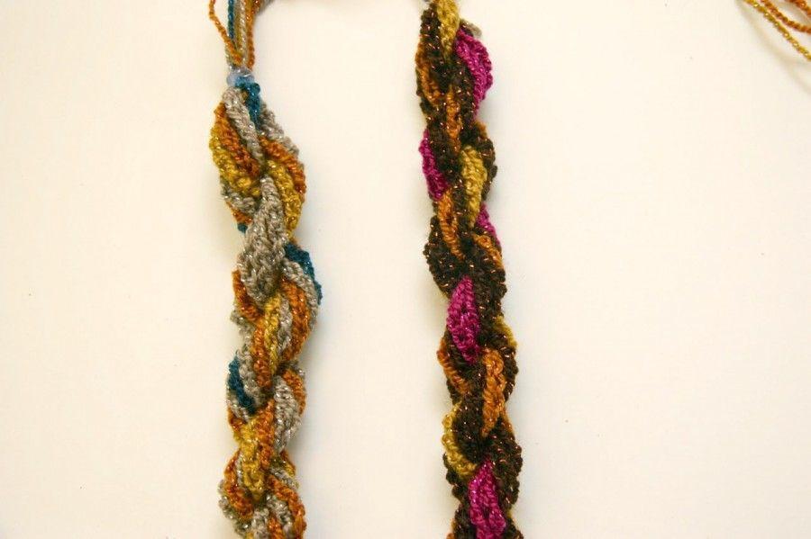 Boho crocheted necklace | DIY & Crafts | Pinterest