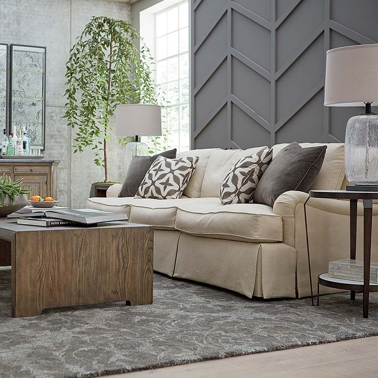 Bassetfurniture Com: Designer Comfort Bridgewater Sofa