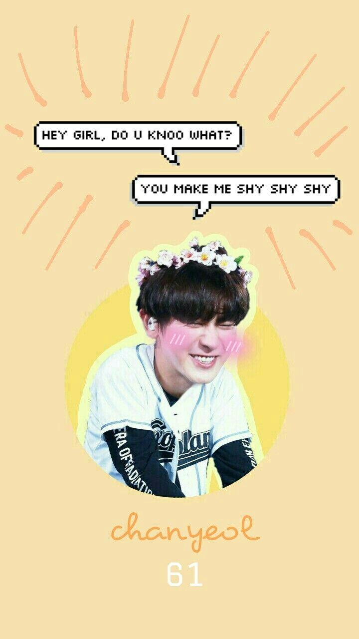 Exo Chanyeol Wallpaper Wallpaper Tumblr Chanyeol Cute