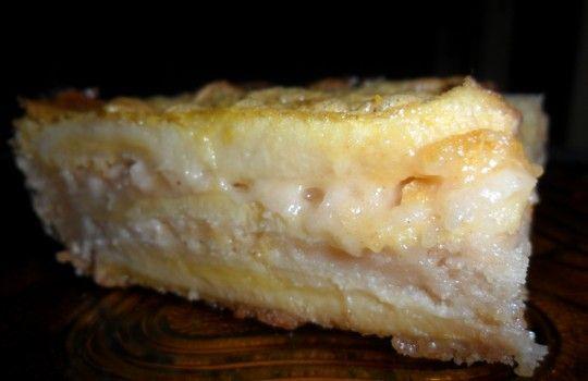Torta de banana fácil