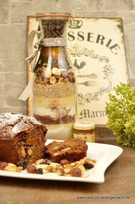 Backmischung für Englisches Weihnachtsbrot Rezept Backmischung - weihnachtsgeschenke aus der küche