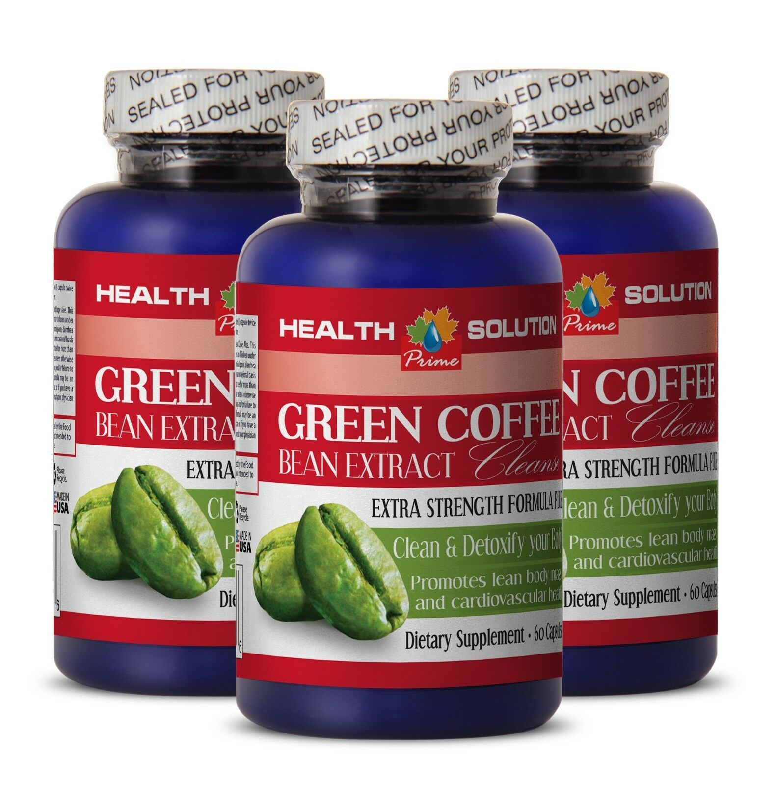 Weight Loss Results GREEN COFFEE EXTRACT CLEANSE 400MG
