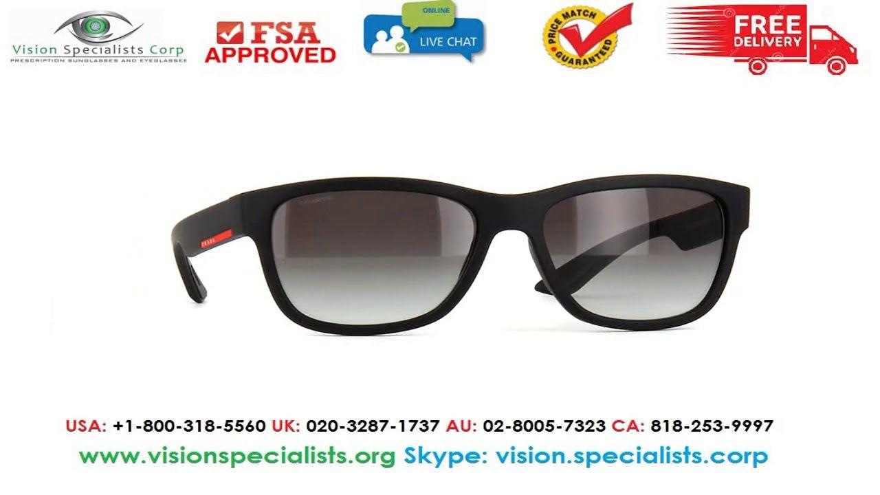 Prada Linea Rossa PS 03QS DG00A7 Sunglasses | Prada Linea