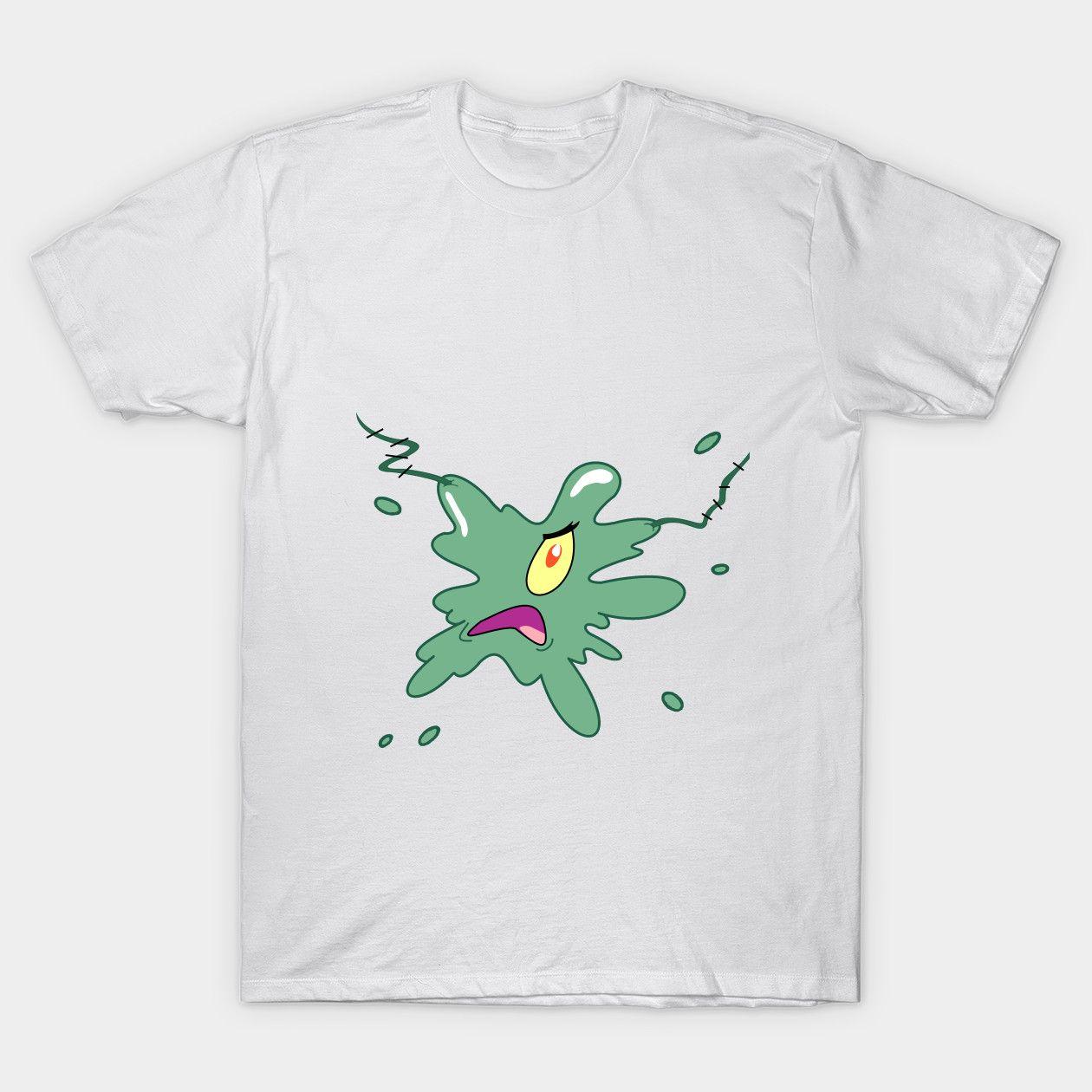 Squashed Plankton Stain spongebob Classic T-Shirt