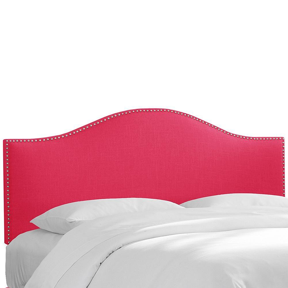 Skyline Furniture Nail Button Headboard - King | Rosa, Uñas y Botones