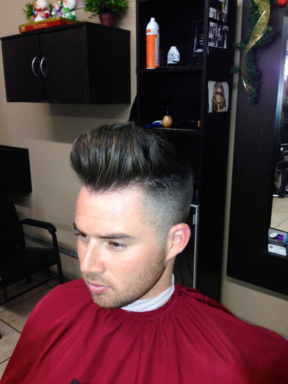 How To Cut A Modern Pompadour Haircut Step By Step Tutorial Logan