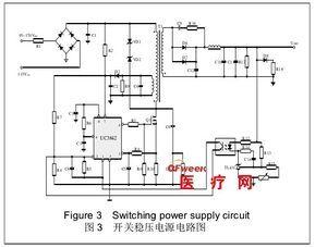Puterea comutatorului medical bazat pe chipul UC3842 este proiectat