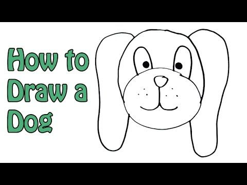 How to draw a cartoon dog step by step video how to draw a dog ea
