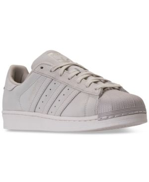 065a83f25 adidas Men s Superstar Casual Sneakers from Finish Line - Gray 10.5 ...