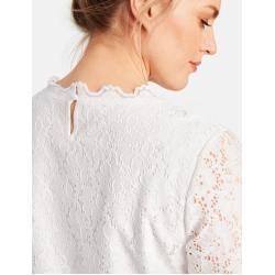 Photo of Samoon elastic lace shirt white women Gerry Weber
