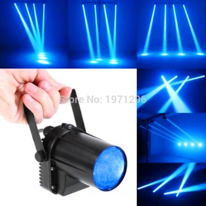 10w Cree Led Rgbw 4in1 Led Pin Spot Beam Lights For Mirror Ball For Disco Dj Party Event Live Show Stage Lighting Laser Stage Lighting Commercial Lighting
