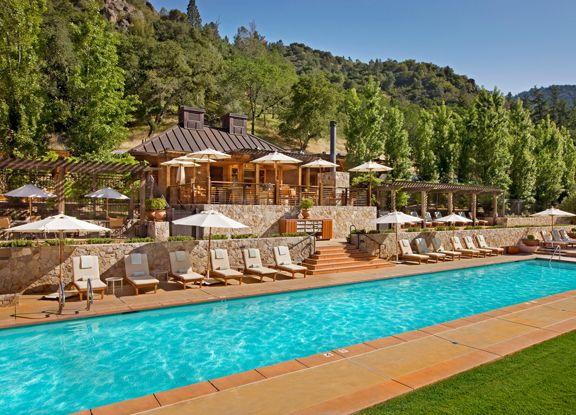 Calistoga Ranch Luxury Hotel Resort And Spa In Napa Valley California