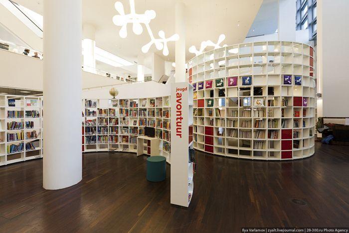 Openbare bibliotheek amsterdam biblioteki library for Bibliotheek amsterdam