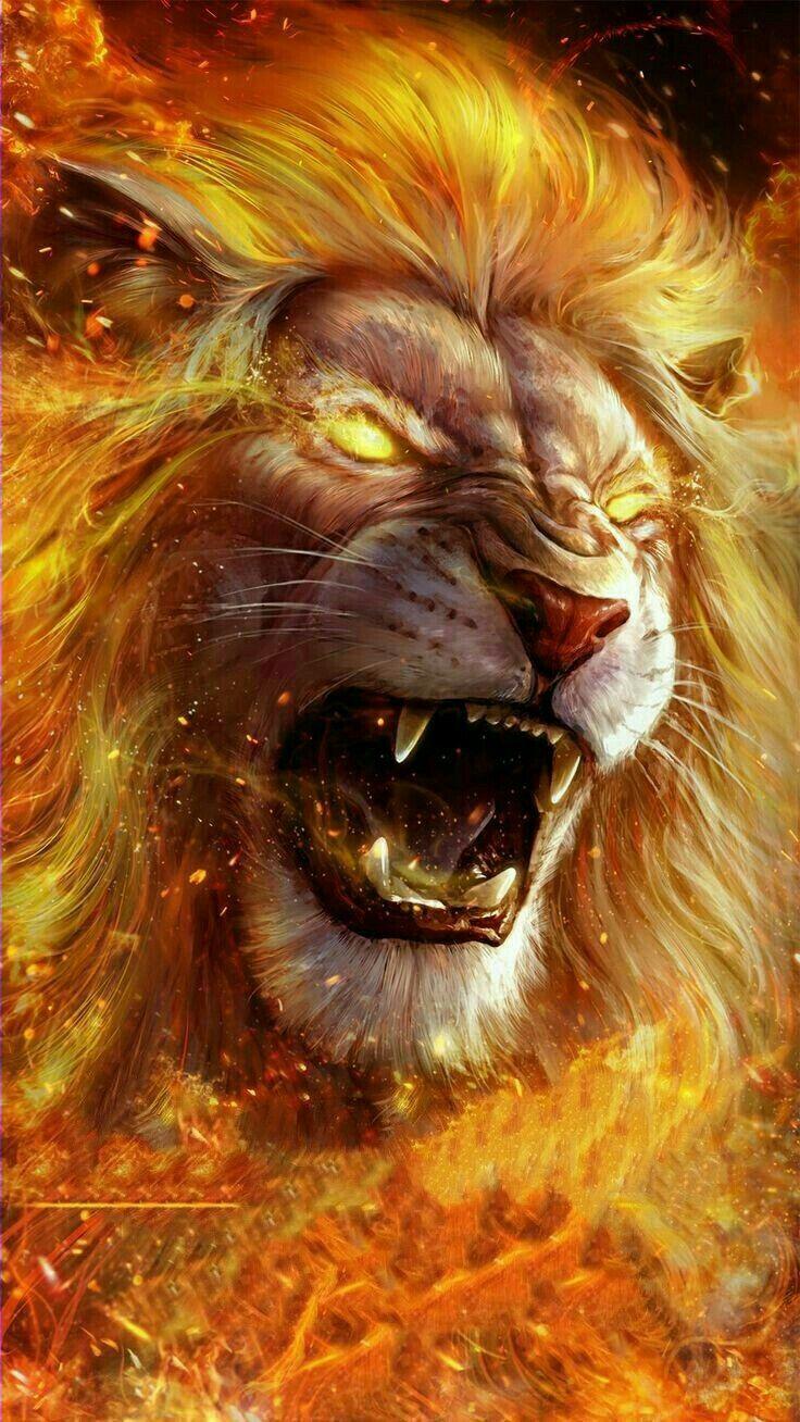 Pin Oleh Panji Prabowo Di Leeuw Menggambar Singa Lukisan Hewan Binatang Buas
