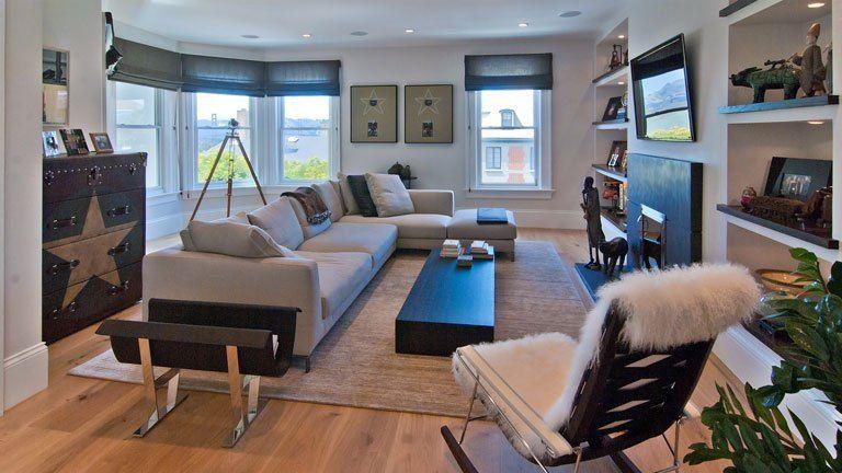 Edwardian Home Modern Interior Presidio Heights San Francisco Teed Haze 3481 Washington Street 12