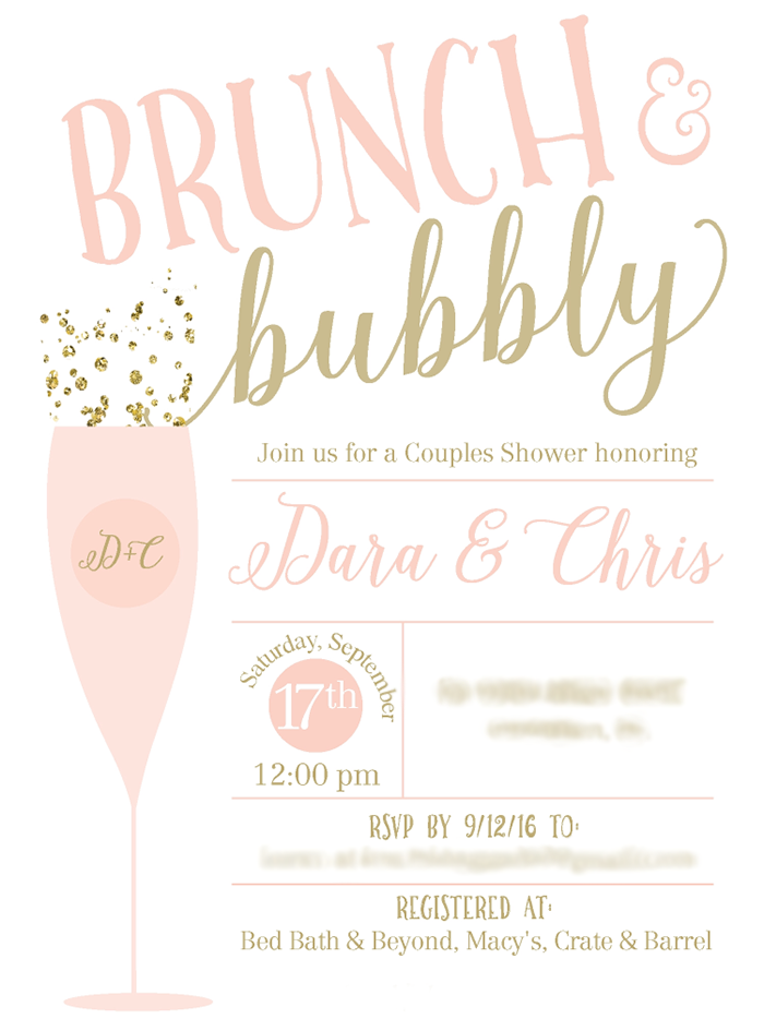 brunch and bubbly couple s shower bridal showers pinterest